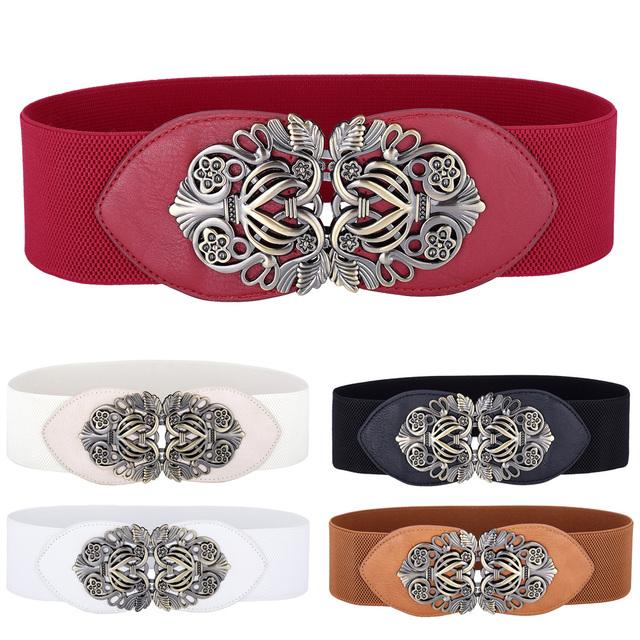 Cinturón elástico elástico de talla grande para mujer