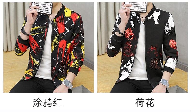 HTB1Tcf.kYZnBKNjSZFKq6AGOVXa0 Bomber Jacket Men 2019 Autumn Mens Pilot Jacket Sportswear Bomber Jacket Fashion Casual Mens jackets Coats Outwear Windbreaker