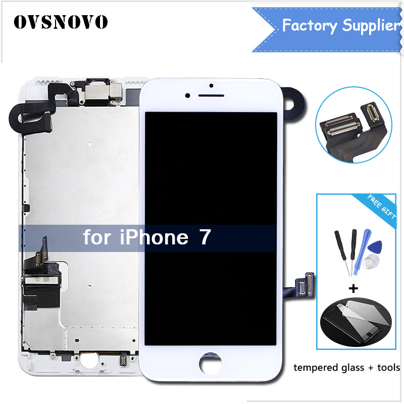 Full Set LCD For iPhone 7 7g LCD Display with 3D Touch Screen Front camera Digitizer