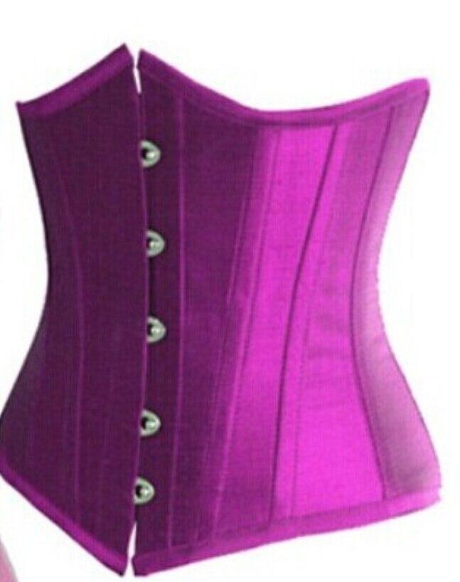 18e366fa8e8c2 Underbust Corset Plus Size Lingerie Waist Training Corsets For Women Top  Bustier Push Up Waist Cincher Bodyshaper Black-in Bustiers   Corsets from  Underwear ...