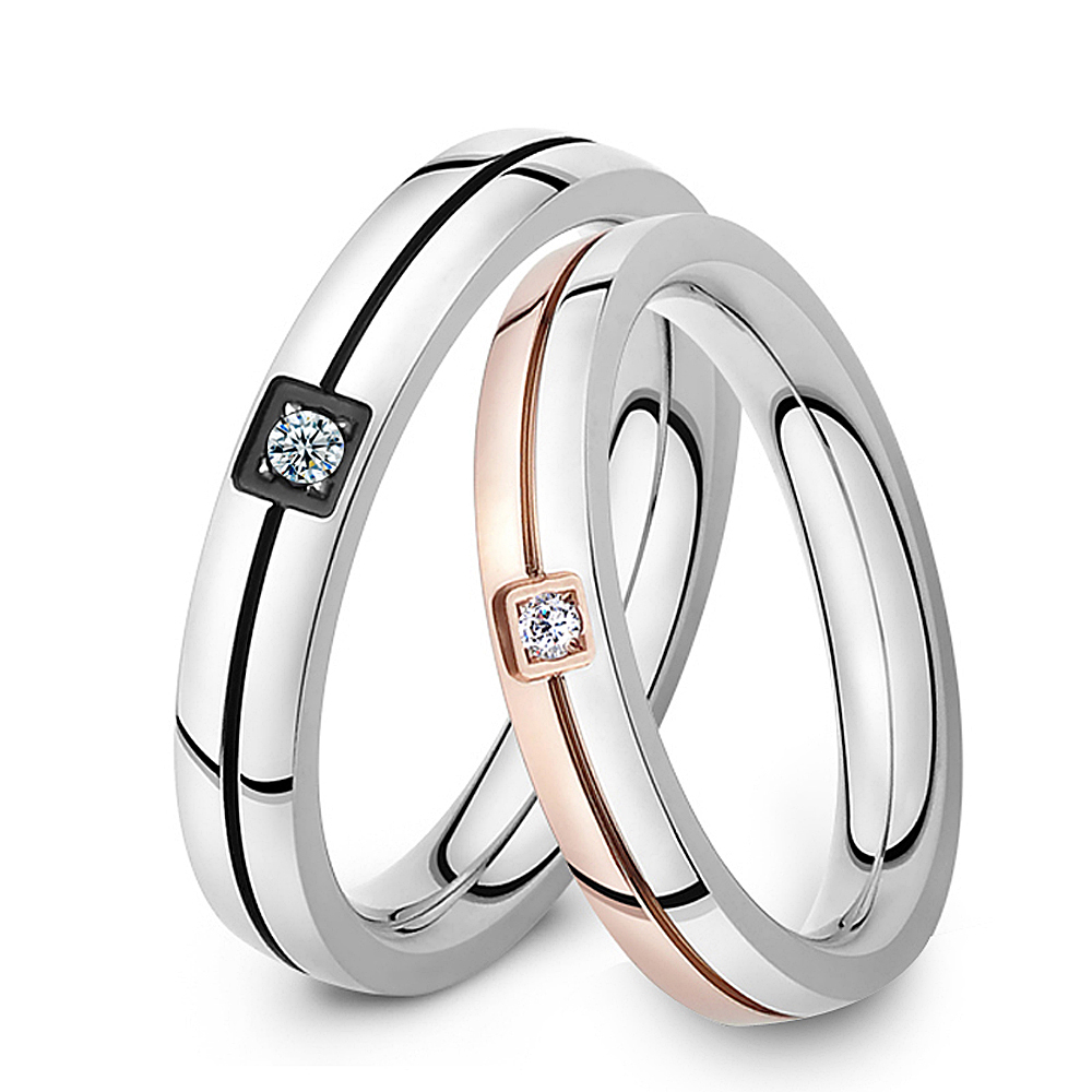 Popular Promise Rings for Couples Set-Buy Cheap Promise Rings for ...