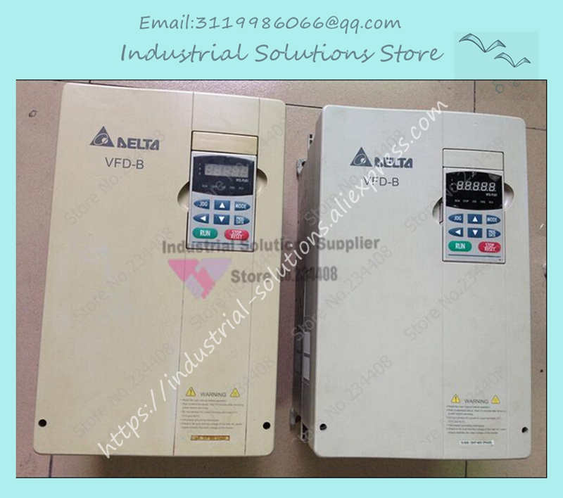 Input 3ph Output 3 phase Motor Drive Inverter VFD150B43A 0~480V 15KW 20HP 30.1~400Hz 80V NewInput 3ph Output 3 phase Motor Drive Inverter VFD150B43A 0~480V 15KW 20HP 30.1~400Hz 80V New