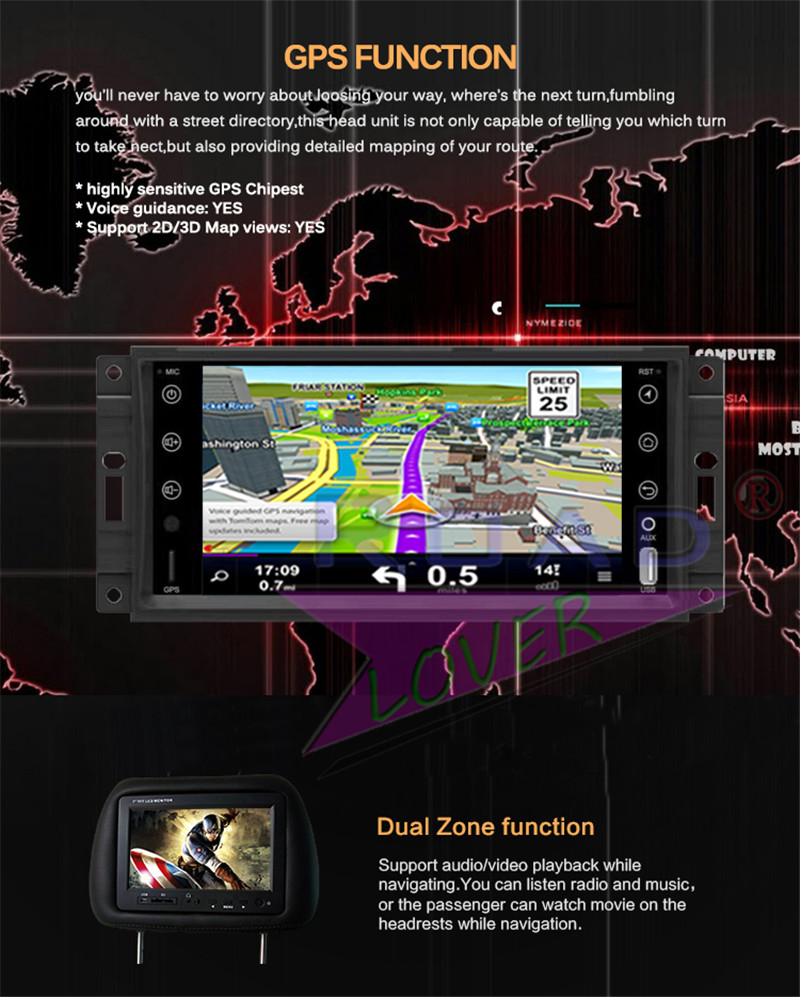 multimedia For Jeep Grand Cherokee