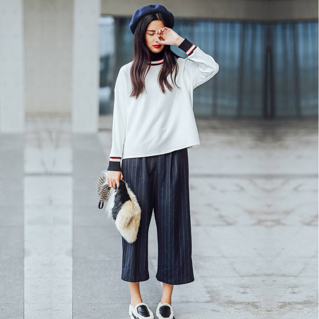 Wide Leg Pants For Girls
