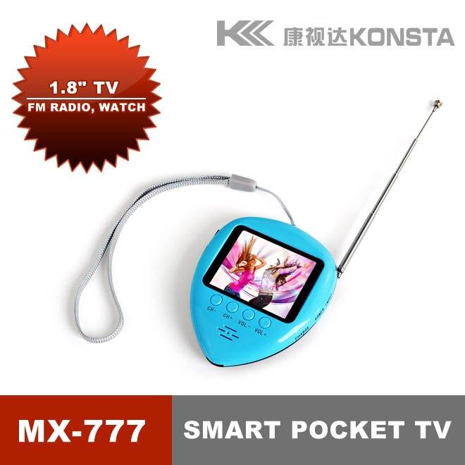 15bc56d259a Hot vendas Leadstar 1.8 polegada relógio de bolso com mini TV FM função de  rádio para presente das crianças em Relógios de bolso   Fob de Relógios no  ...