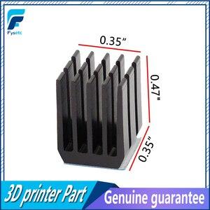 12 шт., детали для 3D-принтера, драйвер шагового двигателя, радиаторы, охлаждение, теплоотвод, ультратихий для TMC2100, A4988, DRV8825, TMC2208, TMC2130