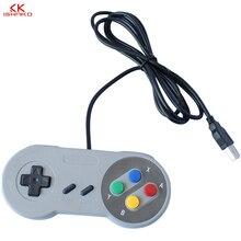 USB2.0 Controller สำหรับ Super Nintendo SNES แบบคลาสสิก PC Super SNES Controller USB