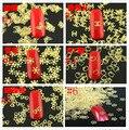 Atacado-Nail Pedrinhas 1000 Pcs Ouro Metal 3D Adesivo Decalque Manicure Ferramenta Da Arte Do Prego Telefone Decoração Frete Grátis
