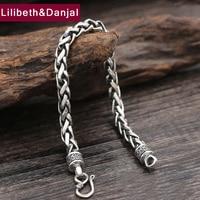 2017 New 925 Sterling Silver Friendship Bracelet Men Jewelry 6mm Wide Rope Bangle Bracelet Women Gift Fine Jewelry B15