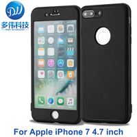 Luxury New Fashionable Cover For Apple IPhone 7 TPU Soft Silicon 360 Degree Full Body Shockproof