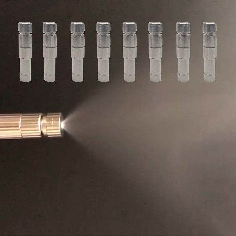A287 5 15bar 0 1 0 6mm Atomization Fog Micro nozzles With Filers 6mm Slip Lock