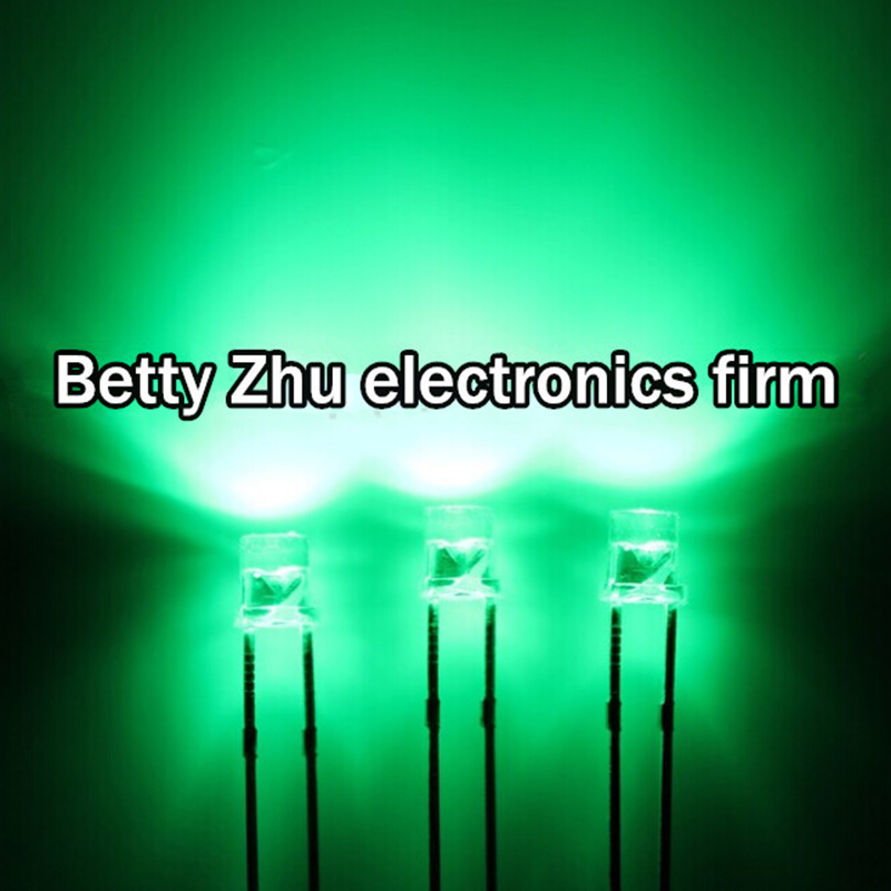 5 Stück Power LED 3W 700 mA blau 40 lm