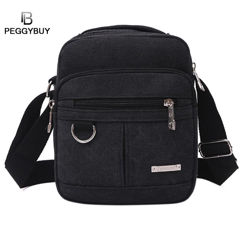 9b3e70caf697 Мужская модная дорожная крутой Холст сумка мужская сумка через плечо ...