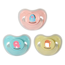 VALUEDER Soft Baby Pacifier with Pretecor BPA Free Cute Nipple Soother Flexible Silicone Pacifiers for Newborn Infants(China)