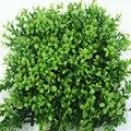 Flores artificiais de Promoção 2017 Novo Gramado de Alta Qualidade Plástico Tapete de Grama Artificial Para A Decoração Do Jardim Gramado Hedge Relva