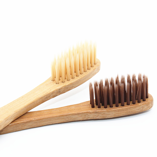 Soft Eco-Friendly Bamboo Oral Toothbrushes 10 pcs Set