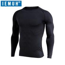 IEMUH Brand Winter Men Long Johns Fleece Thick thermal Under
