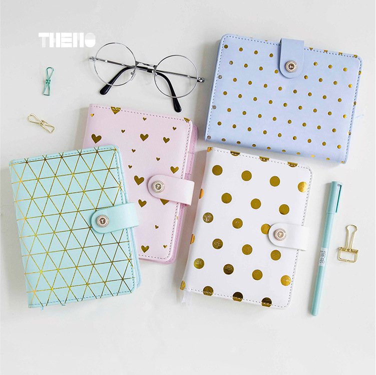 A6 Soft PU Notebook Macaron Color notebooks 4 Simple Designs Travel Journal Notepad Planner Diary Book Gifts