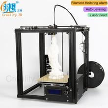 Core-XY 3D принтер v-слот Рамки creality 3D Ender-4 автоматического выравнивания лазерный 3D-принтеры DIY Kit нити мониторинга сигнализация защита