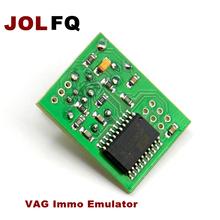 JOLFQ Car Styling narzędzie diagnostyczne VAG Immo Emulator dla VW dla Audi narzędzia diagnostyczne Ecu Immobilizer Emulator dla SEAT do siedzenia tanie tanio Newest 10cm High Quality 12-220v 0 1kg Auto key programmer