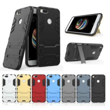 ZUCZUG For Xiaomi Redmi 4X Case Luxury Tough Slim Full Cover hard Case with Holder for Xiaomi Redmi Note 4 4x Shockproof cover for xiaomi redmi 4x case shockproof silicone hard plastic stand case for xiaomi redmi 4x cover for redmi 4x case coque 5