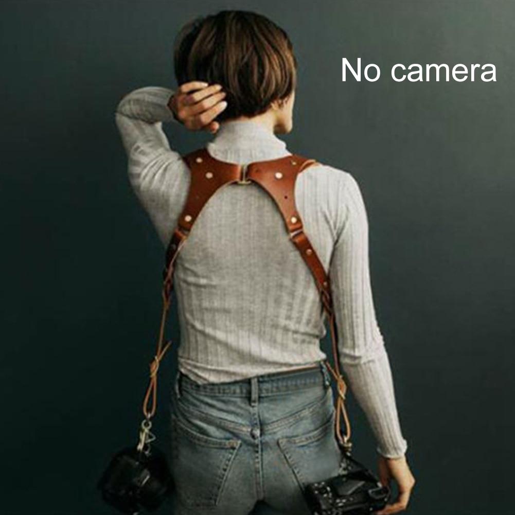 Universal Dual Lens Shoulder Camera Neck Strap Adjustable Anti lost Camera Belt DLSR Strap Rose Anvil India Earl Camera Hardness|Camera Strap|   - title=