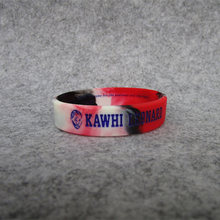 Wholesale Favorite Basketball Star Head Karst Inspirational Sports Lava Bracelet Wristband Kobe Curry James Rubber Cuff Bangle(China)