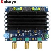 XH M549 2.0 kanal 2x150 W TPA3116D2 dijital ses hifi amplifikatör kurulu ile ton ücretsiz kargo C3 006