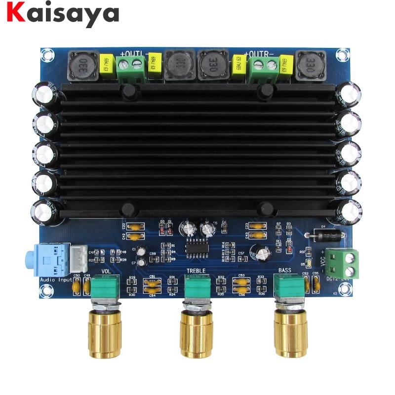 XH-M549 2,0 kanal 2x150 Watt TPA3116D2 digital audio hifi verstärkerplatine mit ton freies verschiffen C3-006