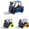 Happy Cherry 3 Colors Scale 1:20  Baby Children Scale 1:50 Alloy Forklift Truck Toys With Tow-Coupling