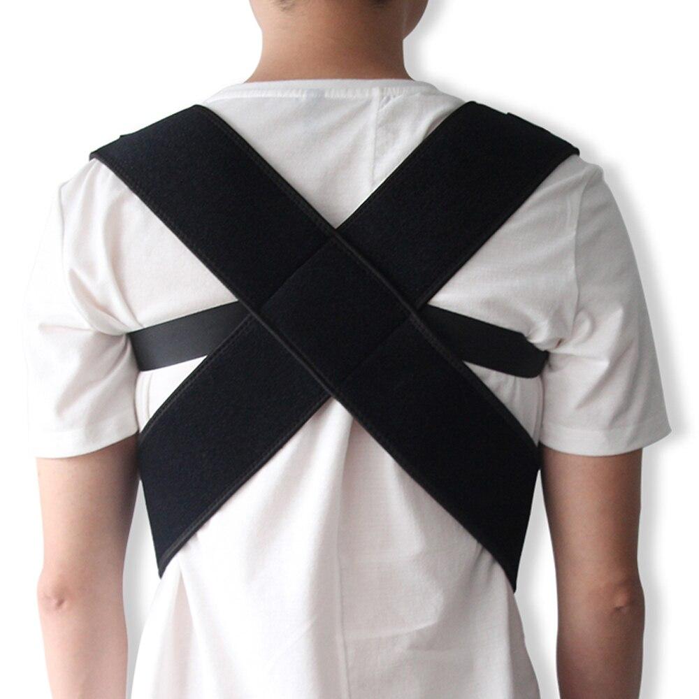 Nueva ajustable postura corsé espalda apoyo cinturón corsé de Estudiante Adulto espalda terapia soportes ortopédicos