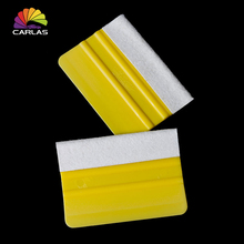 цена на Vinyl Squeegee Car Foil Film Wrapping Suede Felt Scraper Window Tint Tools Auto Household Car Styling Sticker Free Shipping