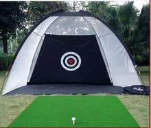 Net prática Indoor golfe exercitador swing golf driving range de Golfe duas cores freeshipping(China)