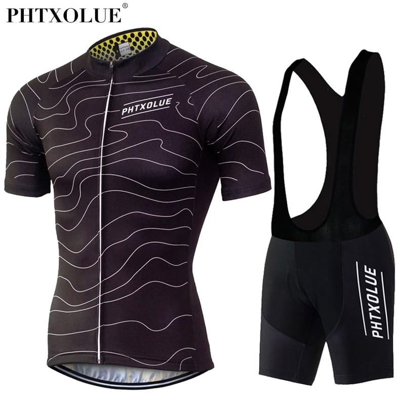 Prix pour Phtxolue Respirant Pro Vélo Ensembles D'été Vtt Vêtements Courtes Vélo Jersey Vêtements Ropa Maillot Ciclismo Usage De Vélo