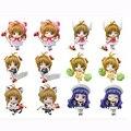 6 UNIDS/SET Card Captor Sakura Figuras de Acción 5.5 CM Figura de Juguete de Colección, Figura de acción Coleccionable Brinquedos Niños Modelo de Juguete