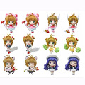 6PCS/SET Card Captor Sakura Action Figures,5.5CM Figure Collectible Toy ,Action Figure Collectible Brinquedos Kids Model Toy
