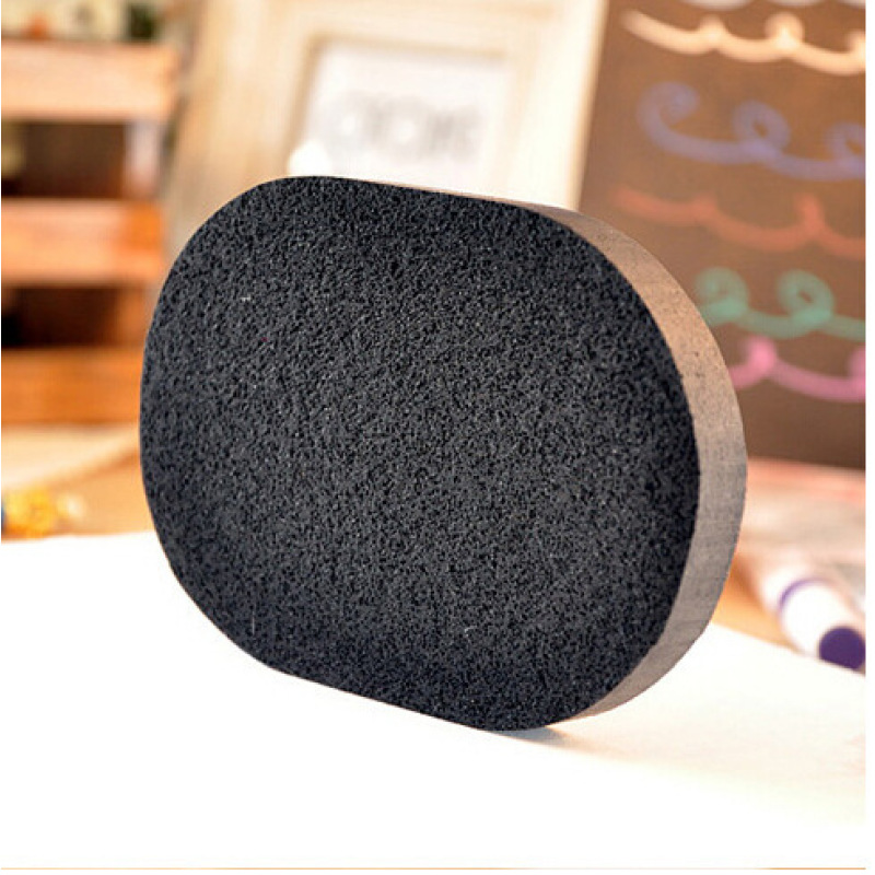 1PC Soft Sponge Face Washing Exfoliator Cleaning Cosmetic Puff Natural Black Bamboo Charcoa Care Tools Puff Facial Clean Puff W3
