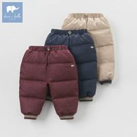 DB4216 Dave Bella Winter Infant Baby Boys Girls Pants Kids Down Pants Children Toddler Fine Feathers