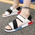 Sandalias de Hombre Zapatos de Moda de Verano de Paja HOTAHOY Suela Beach Flip Flops Hombre Gladiador Tamaño