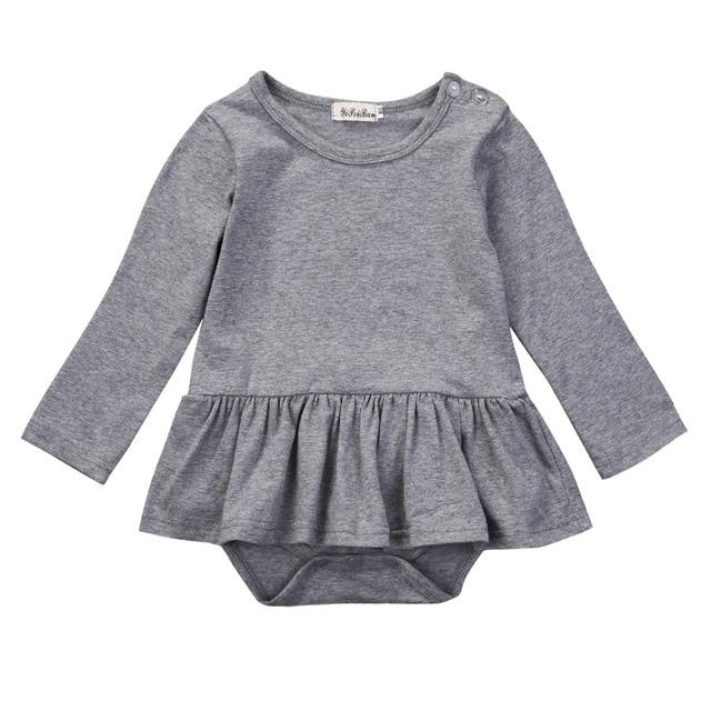 0f9a026a5771 Spring Autumn Fashion Baby Girls Clothes Cotton Baby Girl Tutu Dress ...