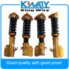 Free Shipping New Coilovers Suspension Spring Shock Fits For Subaru Impreza WRX GDB GDA 2002 2007