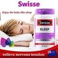 Swisse Relax Sleep 100 Вкладки способствует спокойного сна и поддерживать здоровую нервную систему, облегчения бессонницы, тревога, спид релаксации