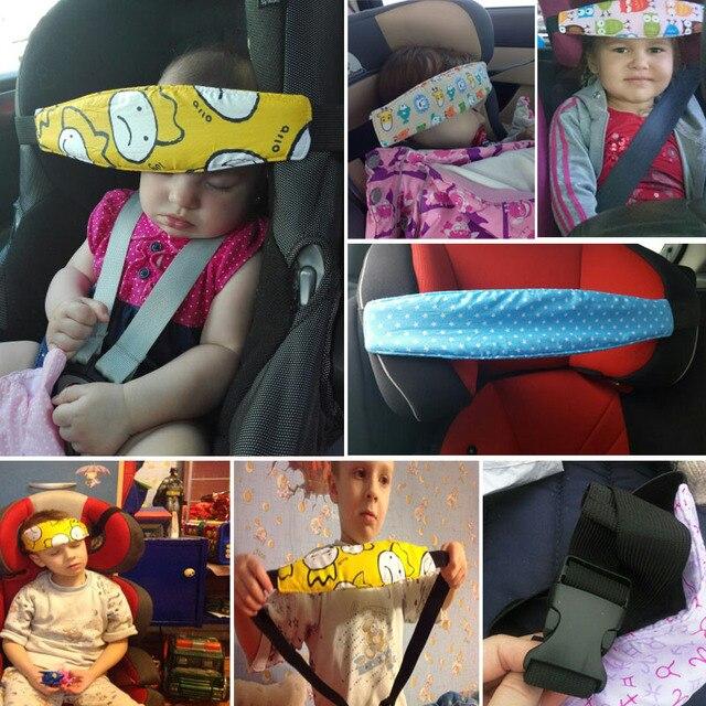 Baby Playpens Car Safety Seat Sleep Positioner Infants And Toddler Head Support Pram Kids Adjustable Fastening Belts 2
