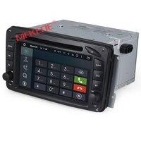1024*600 אנדרואיד 7.1 Quad Core GPS DVD לרכב לנץ C G W203 ויאנו ויטו כיתת CLK M ML W693 מפת סטריאו + 8 גרם W208 W209 W463