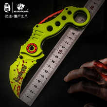 цены HX OUTDOORS 440C Folding Claw Knife Multi Survival Hunting Tactical Pocket Knife Portable Camping Karambit Knives EDC Tools