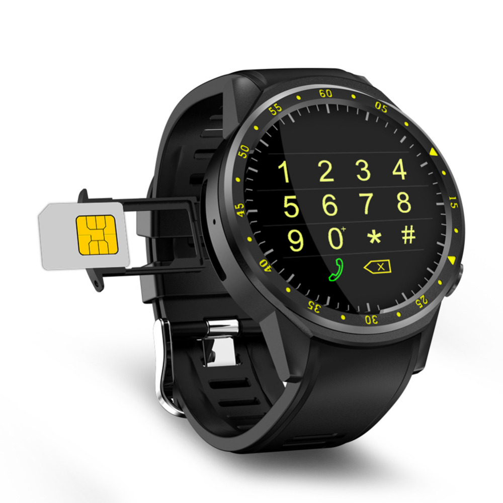 2018 New Bluetooth 4.0 Full Round High-definition IPS Touch Screen  Chip Smart GPS Sports Watch Phone for IOS /Android /Samsung g6 tactical smartwatch