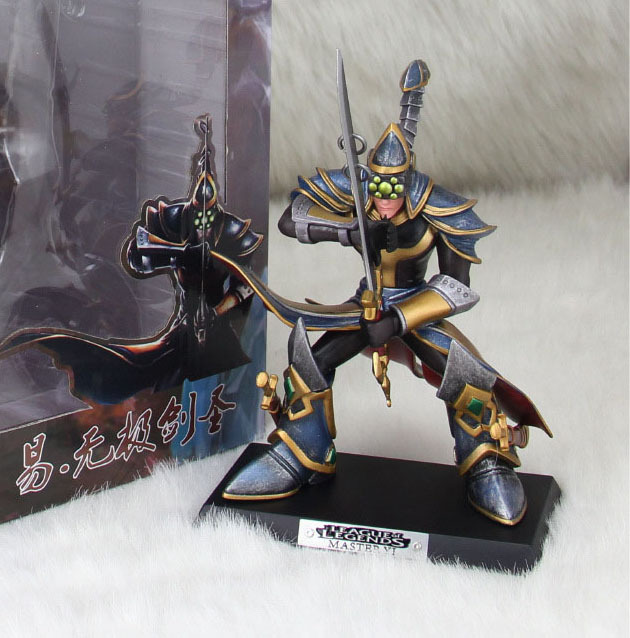US $23 99 |18cm LOL Master Yi Yasuo the Unforgiven Lonia Sword Armour  Warrior Assassin Anime PC Game Toys Model Action Figure-in Action & Toy  Figures