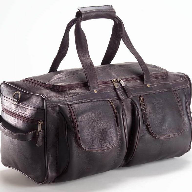 Clava AG-14 XL Duffel - Vachetta Cafe clava 709 hip to be square backpack vachetta cafe