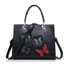 Mode frauen Stickerei Taschen Handtaschen Frauen Berühmte Marken Leder Dame Luxus Handtaschenfrauen-designer Sac ein Haupt Bolsas