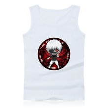 Hot sale Janpan Anime Tokyo Ghoul Tank Top Men's Summer Sleeveless O- Neck Tank Tops For Men XXS-4XL Vest